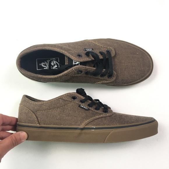 Vans Brown Sneakers Sz 8.5 A80 ec2c7e4c9